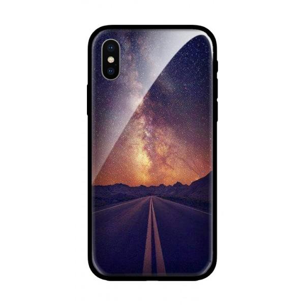 Стъклен кейс за iPhone XS път 101+79